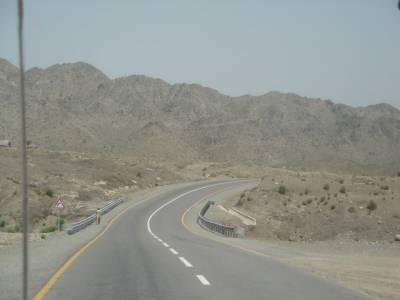 Sorab-Hoshab N-85 Highway important element of CPEC western route