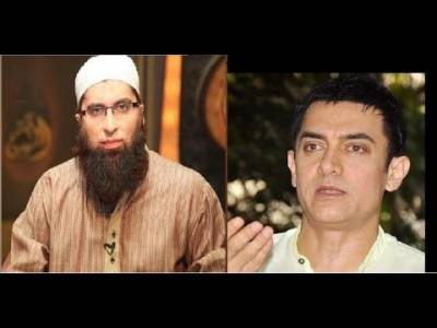 What Actor Amir Khan says about Junaid Jamshed?