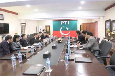 Imran Khan meets Chinese Communist Party delegation