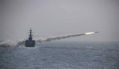 Pakistan Navy splendid firepower demonstration in North Arabian Sea