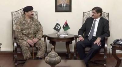 Corps Commander Karachi holds important meeting with CM Sindh