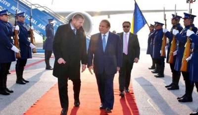 PM Nawaz Sharif given red carpet welcome in Bosnia & Herzegovina