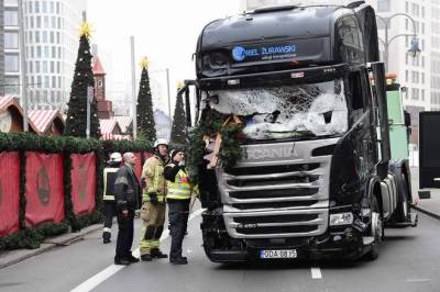 Suspected Pakistani behind deadly truck rampage at Christmas Market: Berlin Police Chief
