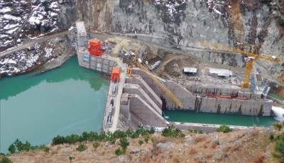 157 MW Patrind Hydropower project completion status