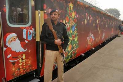 Christmas Peace Train schedule for Lahore