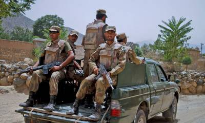 Frontier Corps foil terrorism bid