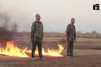 ISIS burns Turkish soldiers alive in Syria