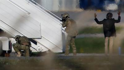 Libyan Plane hijacking drama comes to a sensational end