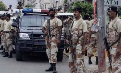 Sindh Rangers crack down in Karachi