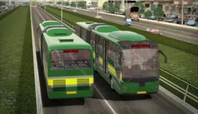 Green Line Bus Transit Project in Karachi update