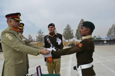 COAS General Qamar Bajwa addresses passing out parade in Quetta