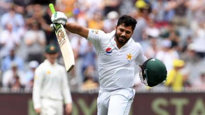 Azhar Ali makes historic record