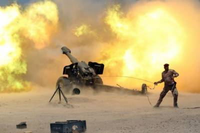 Iraqi Army strikes hard on ISIS bastion