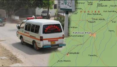 Suicide attack in Rahim Yar khan