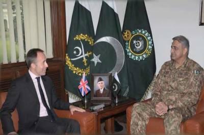 British HC discusses regional security with COAS