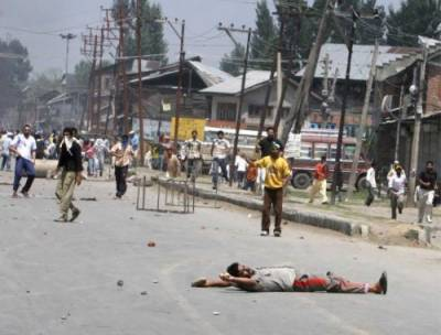 Indian Army's yet another act of state terrorism in occupied Kashmir