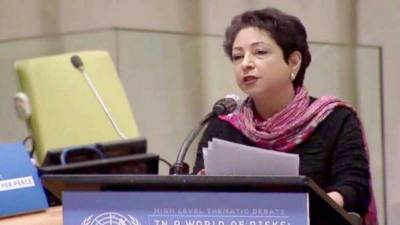 Maleeha Lodhi engages Trump administration in New York