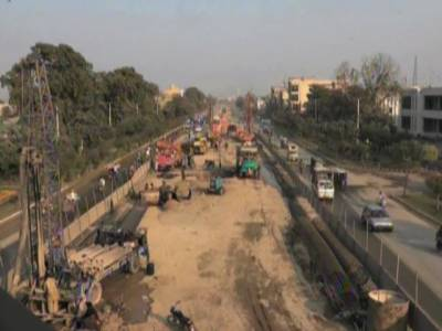 Orange Line Metro Train project equipment exempted from tax