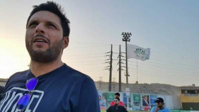 Shahid Afridi criticises PTI performance in KPK