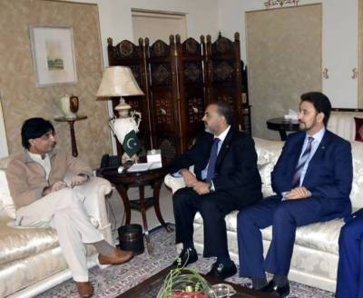 UK delegation discusses Kashmir issue with Interior Minister