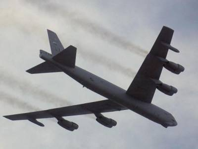 US Nuclear Bomber engine lost during flight
