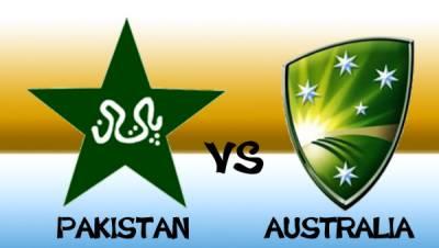 Pakistan Vs Australia ODI series schedule