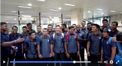 Malaysia Cricket Team arrives in Lahore