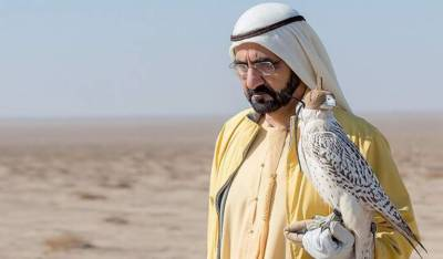 Ruler of Dubai Sh. Muhammad bin Rashid to land in Pakistan for hunting