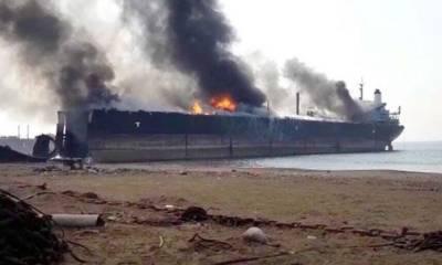 100 stranded in Gadani Ship Breaking Yard fire
