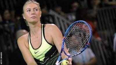 Maria Sharapova returns back