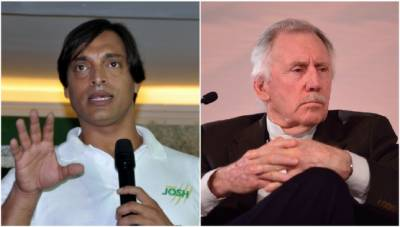 Shoaib Akhtar replies to Ian Chappel disgraceful comments