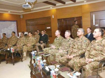 Why US Commander General John Nicholson visited North Waziristan?