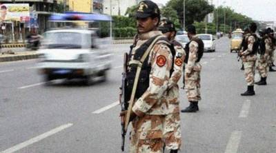 Sindh Rangers recover huge quantity of weapons from Karachi graveyard