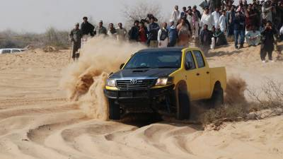 Cholistan Desert Jeep rally schedule issued