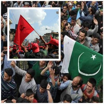 Maoist seperatists in India extends support to Kashmiris' irking Modi Sarkar