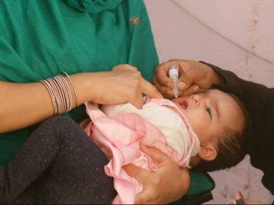 Anti-Polio drive begins in different parts of country