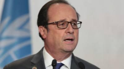 French President Hollande blasts Donald Trump