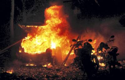 Bomb Blast in Central Indian state
