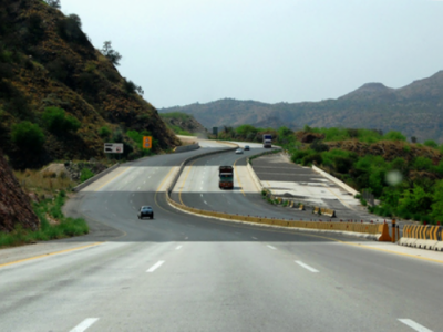 Hyderabad-Sukkur 296 km Motorway status