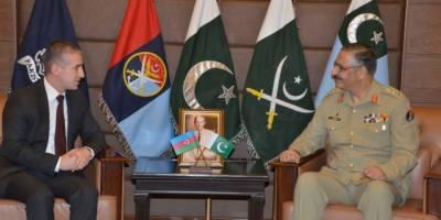CJCSC - Azerbaijan Ambassador discuss defence, security ties enhancement