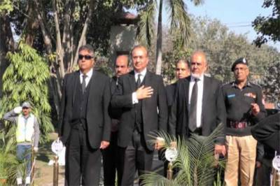 Lahore High Court CJ historic visit to Central Police Office