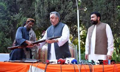 3 senior commanders of Baluch Republican Army surrender