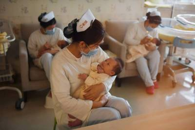 China's birth rate rises to highest level since 2000