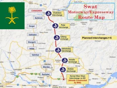Saudi Arabia to provide Rs 3.4b for construction of Swat Expressway