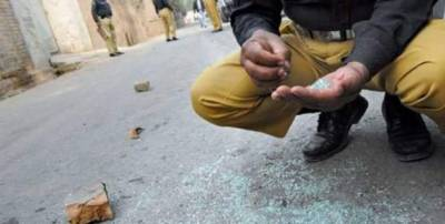 Islamabad Policemen injured in firing by motorcyclist