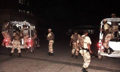Sindh Rangers recover huge cache of Narcotics from Karachi