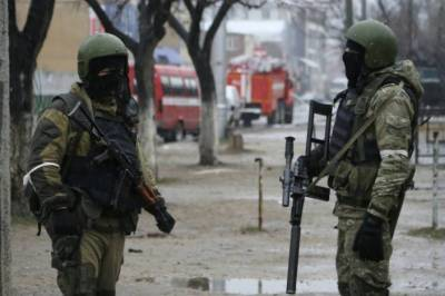 Russian Security Forces gunned down terrorists in North Caucasus