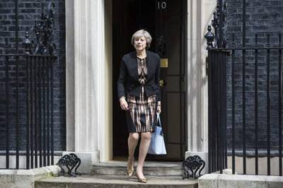 British PM Theresa May in trouble