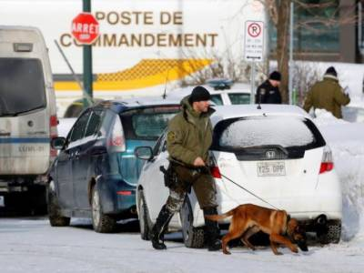 Canadian Police patrol Mosques and Muslim Schools to provide security