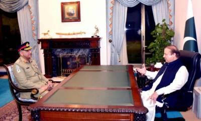 COAS calls on PM Nawaz Sharif